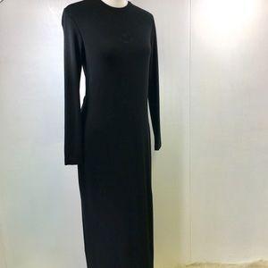 Rena Lange Long Sleeve Maxi Dress. 4